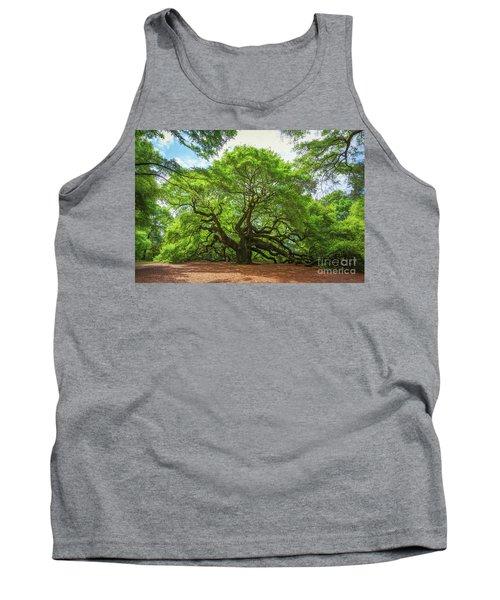 Angel Oak Tree In South Carolina  Tank Top