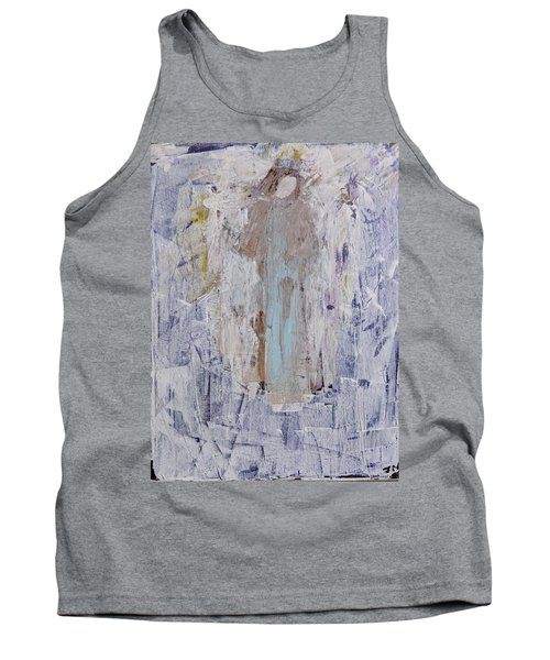 Angel With Her Horse Tank Top