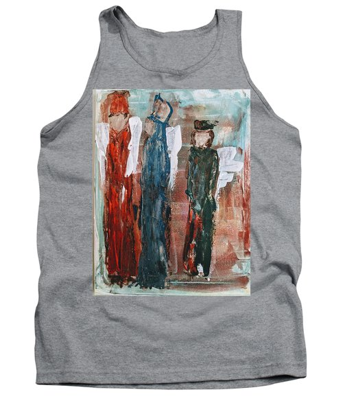 Angels Of The Night Tank Top