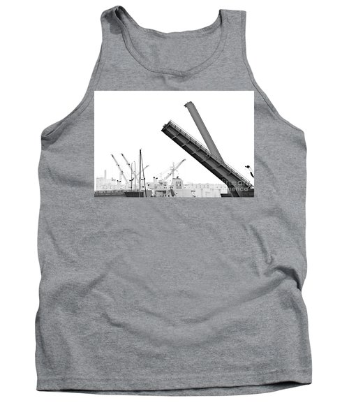 Tank Top featuring the photograph Angle Of Approach by Stephen Mitchell