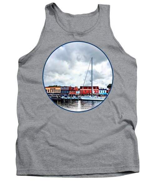 Annapolis Md - City Dock Tank Top