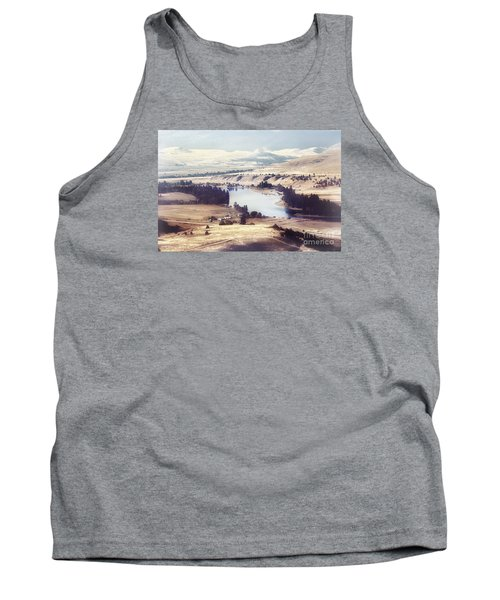 Another Flathead River Image Tank Top by Janie Johnson
