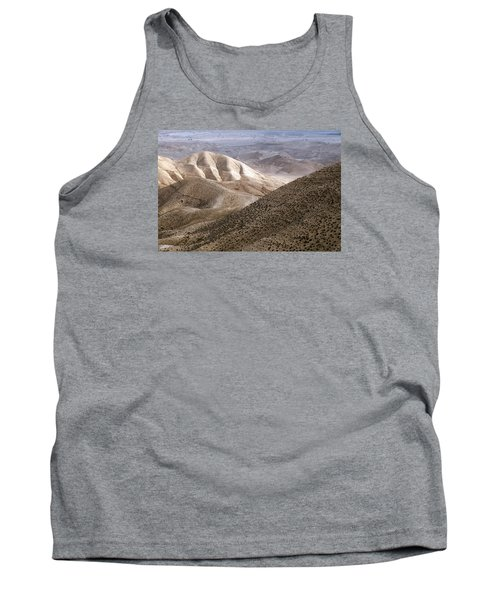 Another View From Masada Tank Top by Dubi Roman
