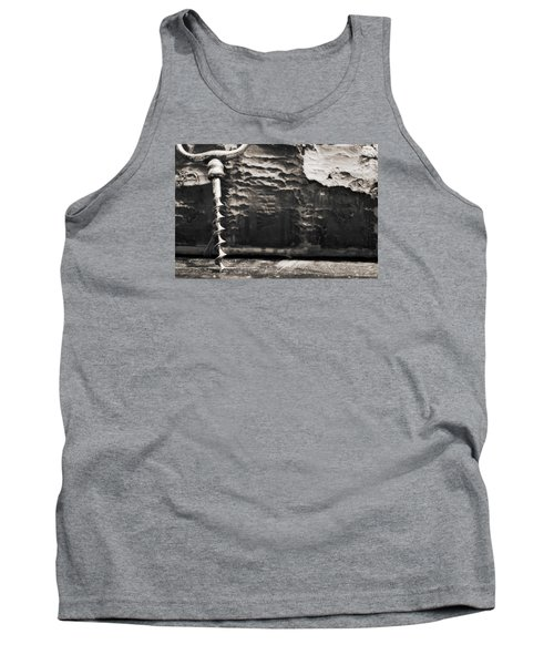 Tank Top featuring the photograph Antique Corkscrew. by Andrey  Godyaykin