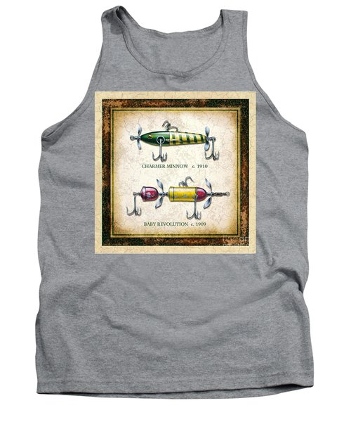 Antique Lure Panel One Tank Top