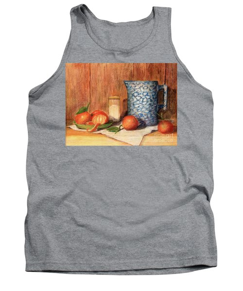 Antique Pitcher With Tangerines Tank Top