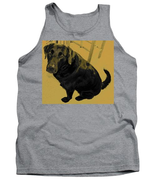 Any Chance I Can Go With You Tank Top by Lenore Senior