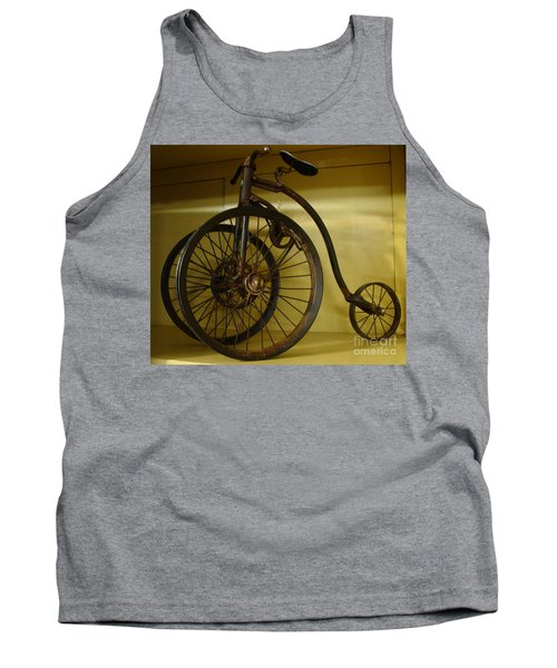 Anyone For A Bike Ride?  Tank Top by Rod Jellison