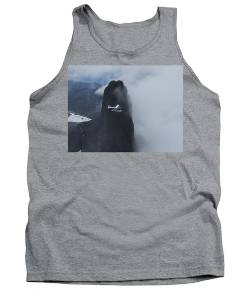 Aop At Black Tusk Tank Top by Mark Alan Perry
