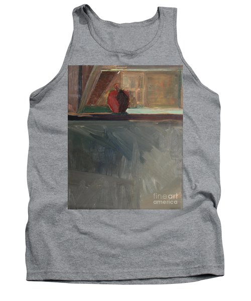 Apple On A Sill Tank Top by Daun Soden-Greene