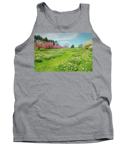 Tank Top featuring the photograph April Days by Diana Angstadt