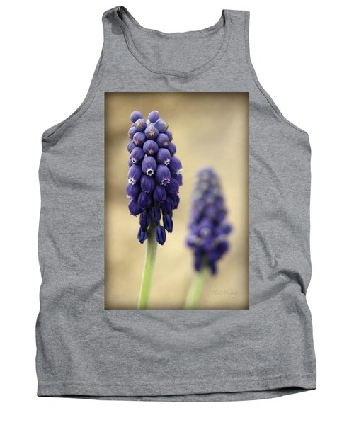 Tank Top featuring the photograph April Indigo by Chris Berry