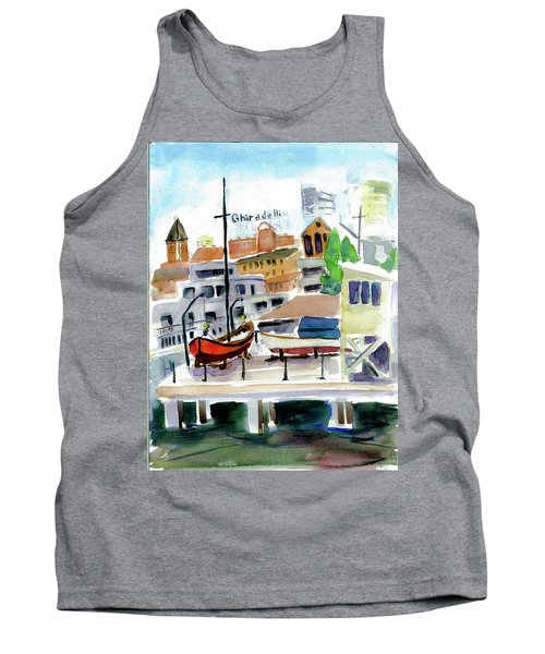 Aquatic Park1 Tank Top by Tom Simmons