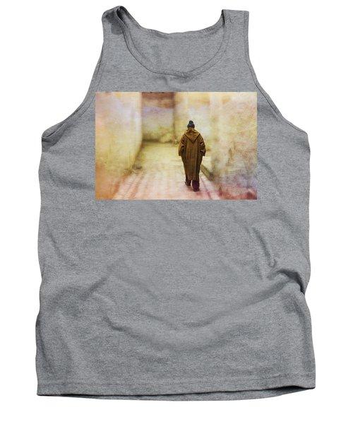 Arab Man Walking - Morocco 2 Tank Top