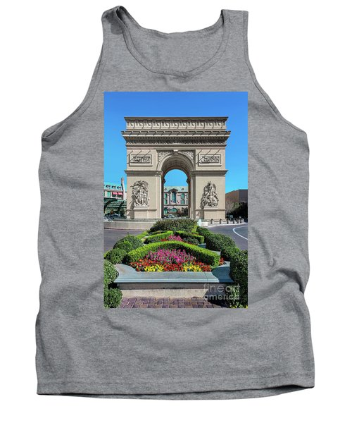 Arc De Triomphe Paris Casino Las Vegas Tank Top