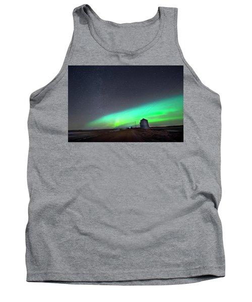 Arc Of The Aurora Tank Top by Dan Jurak