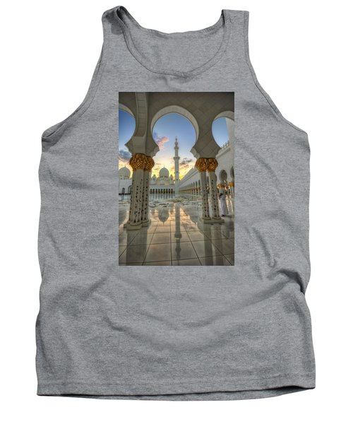 Arch Sunset Temple Tank Top