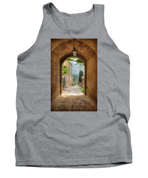 Arched View Tank Top by Uri Baruch