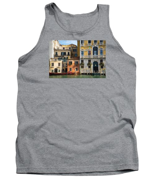 Architecture Of Venice - Italy Tank Top