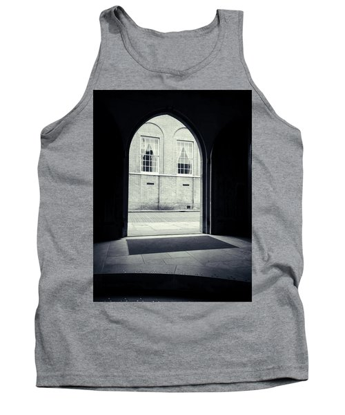 Archway In Black And White Tank Top