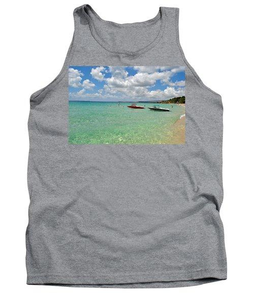 Argostoli Greece Beach Tank Top