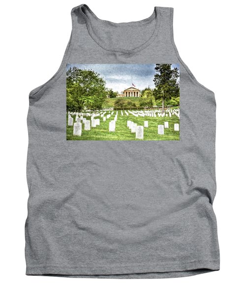Arlington House Half Mast  Tank Top