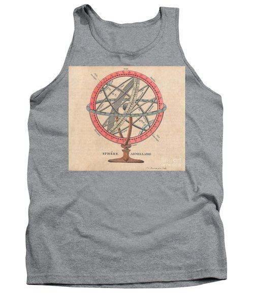 Armillary Sphere  Tank Top by Sergey Lukashin