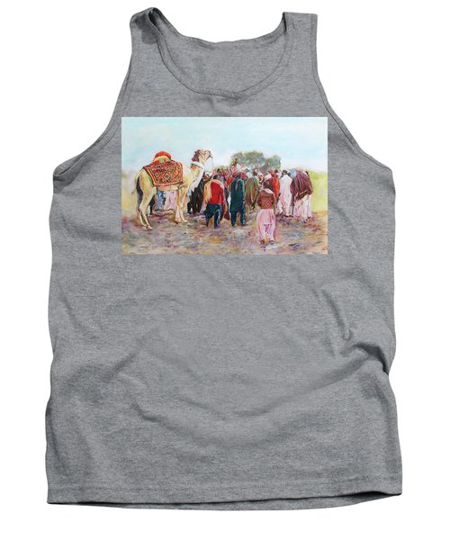 Around The Music Party Tank Top
