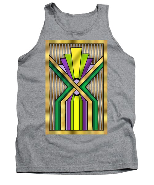 Art Deco 14 B Transparent Tank Top by Chuck Staley
