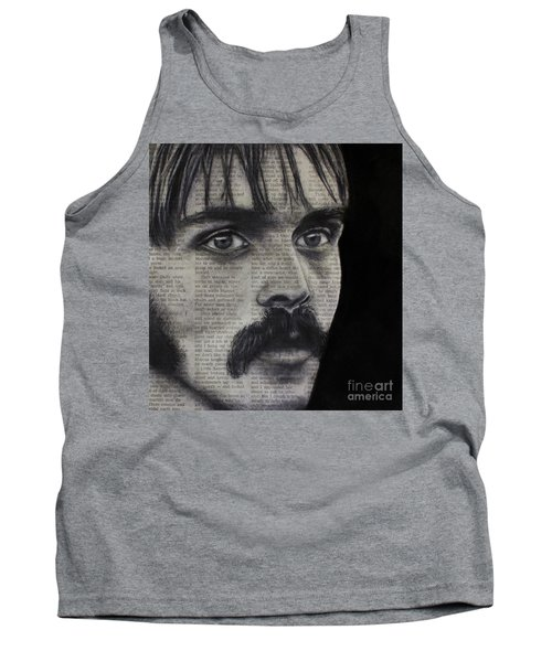 Art In The News 95-steve Prefontaine Tank Top