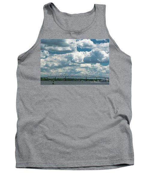 Arthur Kill And Outerbridge Crossing Tank Top