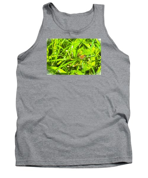 Tank Top featuring the photograph Artistic Essex Skipper  by Leif Sohlman
