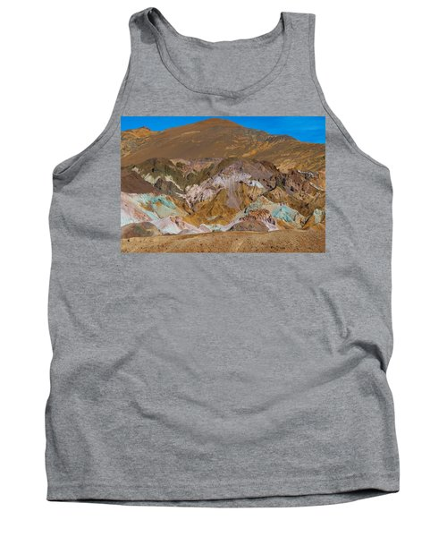 Artists Palette At Death Valley Tank Top
