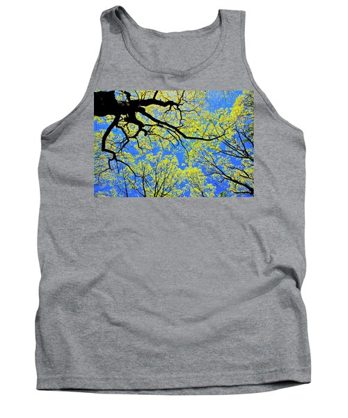 Artsy Tree Canopy Series, Early Spring - # 03 Tank Top