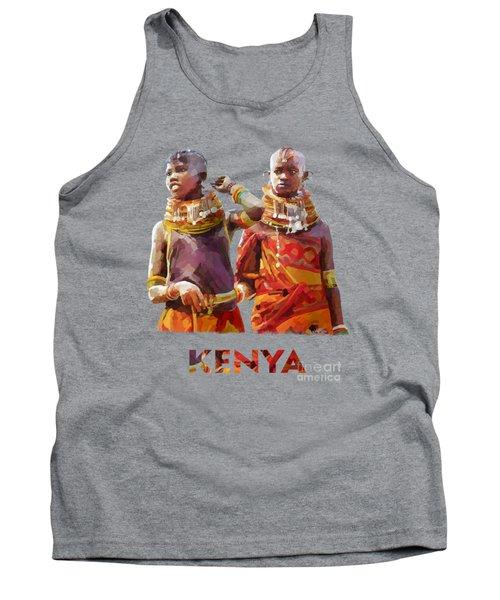 Young Turkana Girls Tank Top