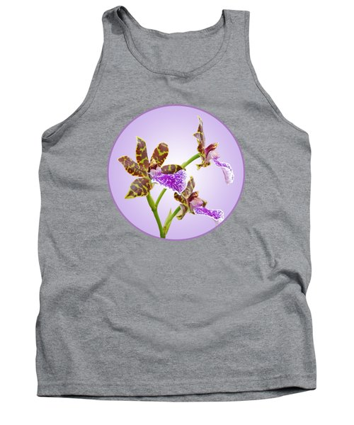 Bold And Beautiful - Zygopetalum Orchid Tank Top