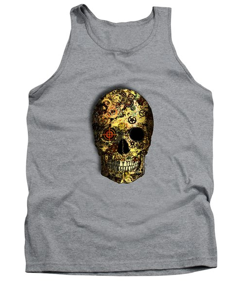 Skullgear Tank Top by Iowan Stone-Flowers