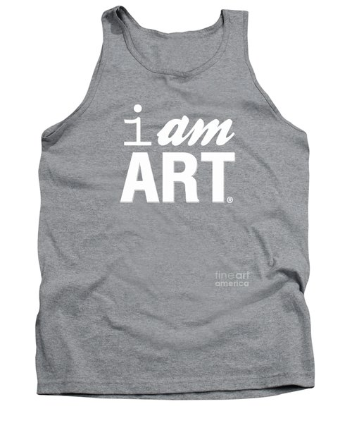 Tank Top featuring the digital art I Am Art- Shirt by Linda Woods