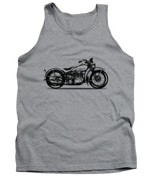 Harley Davidson 1933 Tank Top by Mark Rogan