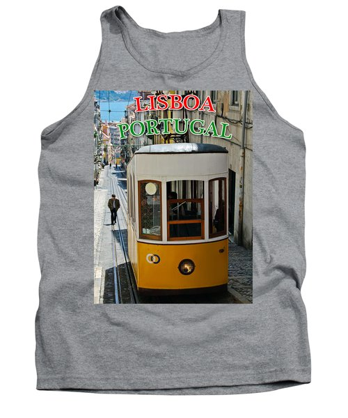 Lisbon - Portugal - Elevador Da Bica Tank Top