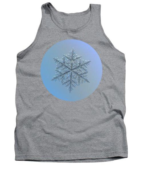 Snowflake Photo - Majestic Crystal Tank Top
