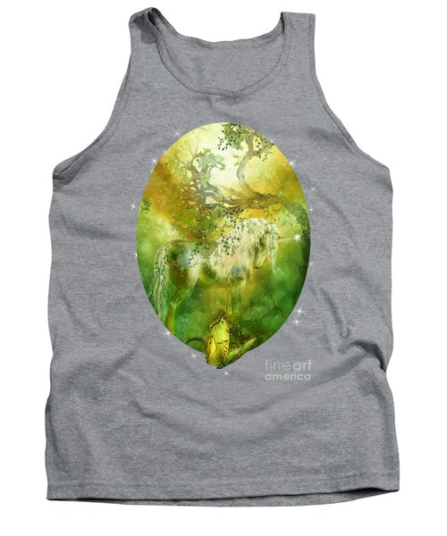 Unicorn Of The Forest  Tank Top
