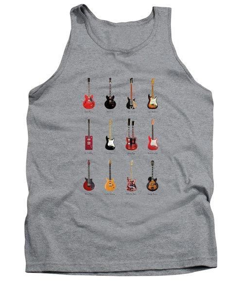 Guitar Icons No1 Tank Top