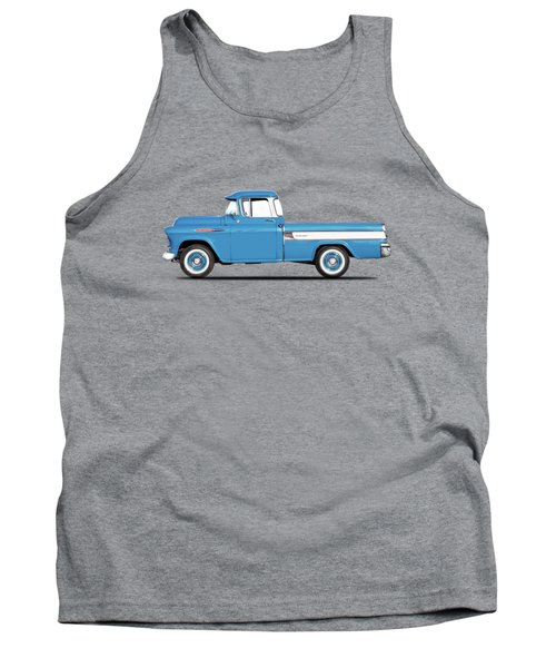 Cameo Pickup 1957 Tank Top by Mark Rogan