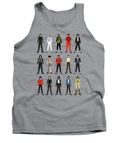 Outfits Of Michael Jackson Tank Top by Notsniw Art