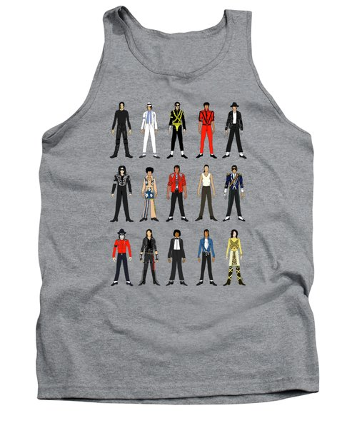 Outfits Of Michael Jackson Tank Top