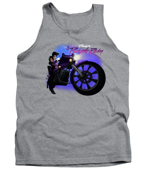I Grew Up With Purplerain 2 Tank Top