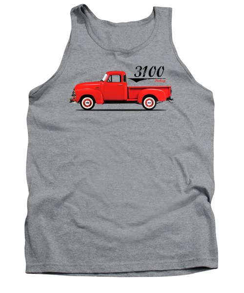 The 3100 Pickup Truck Tank Top by Mark Rogan