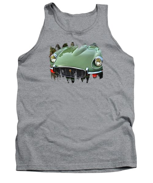 Mint Jaguar Tank Top