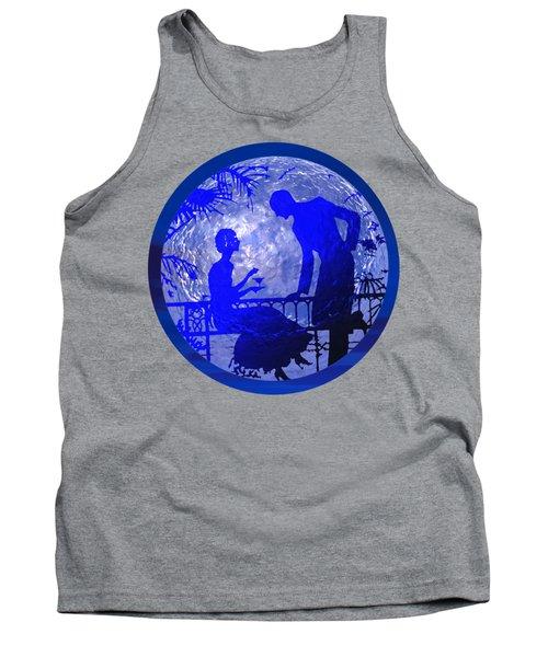 Blue Moonlight Lovers Tank Top